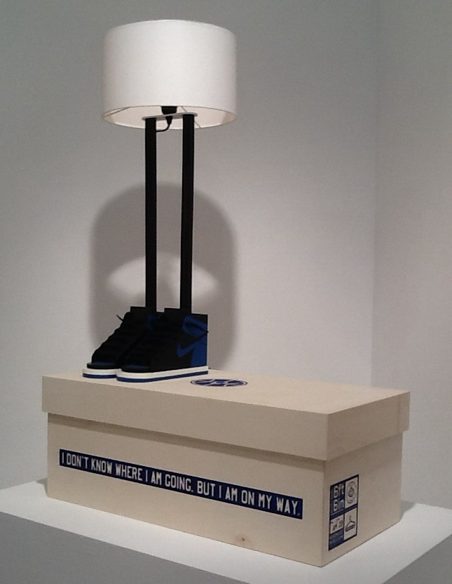 Shoes Lamp By Grotesk
