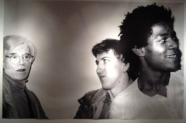 Warhol Kostabi Basquiat