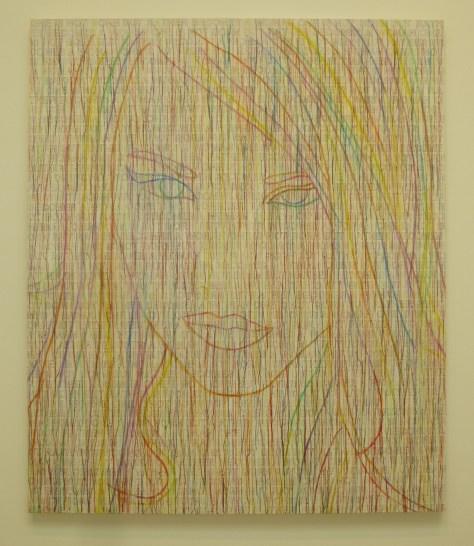 Ghada Amer Rainbow Girl