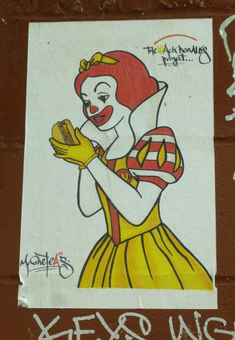 Wack Donalds Project Snow White