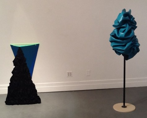 Four Triangles and Pleather Form #1