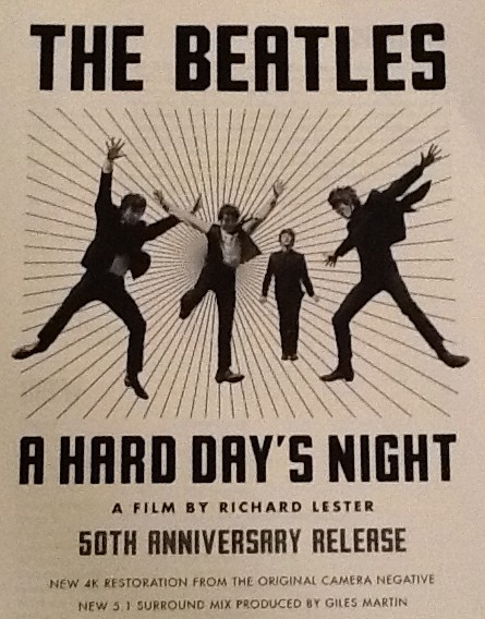 A Hard Days Night One Sheet