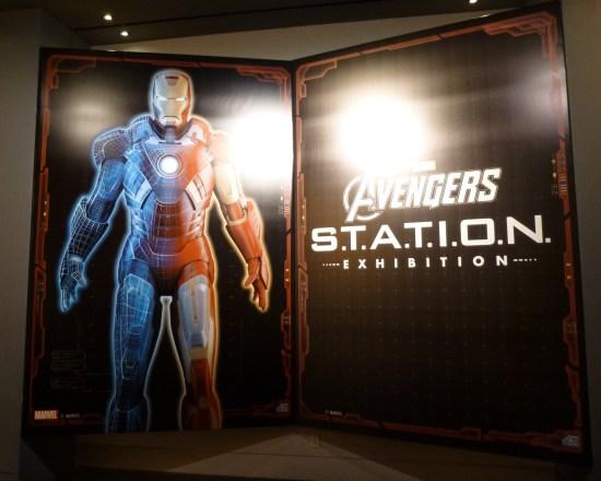Avengers Station Signage