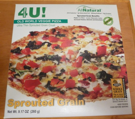 Old World Veggie Pizza Box