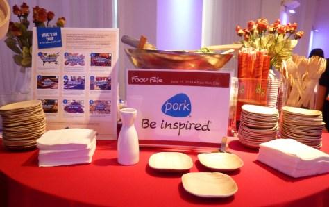 Pork Booth Display