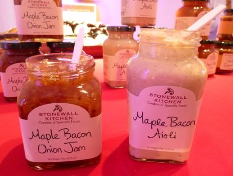 Stonewall Kitchen Maple Bacon Jam and Aioli