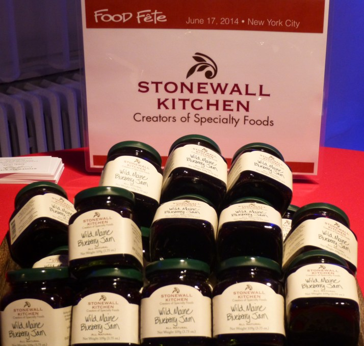 Stonewall Kitchen Jam Display