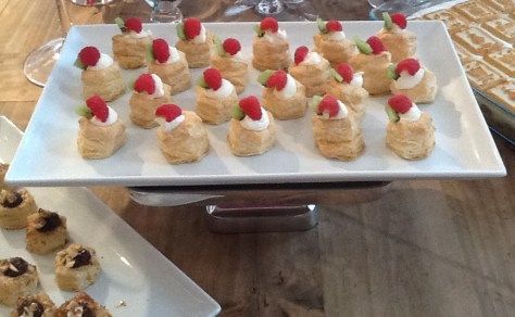 Puff Pastry with Fruit
