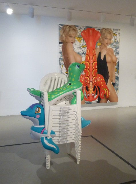 Beach Chairs and Seals