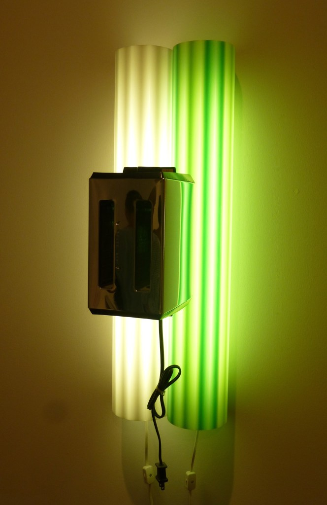 Light Mounted Toaster