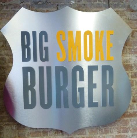 Big Smoke Burger Signage