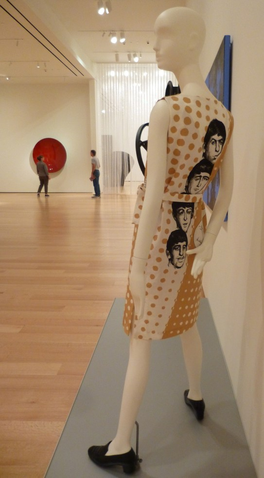 Beatles Dress Side View