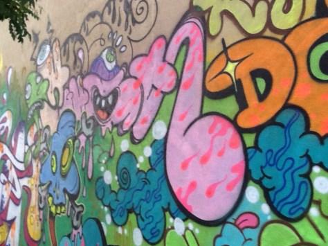 Ghost & Giz Mural Close Up