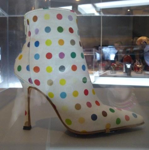 Damien Hirst Dot Boot
