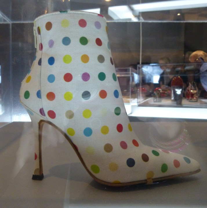 Damien Hirst Dot Boot