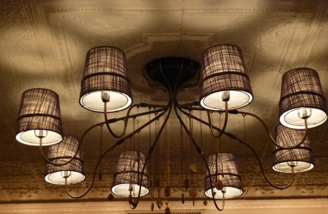 Ceiling Light Fixture Detail