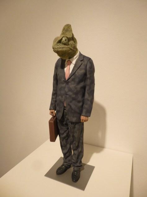 Lizard in a Suit