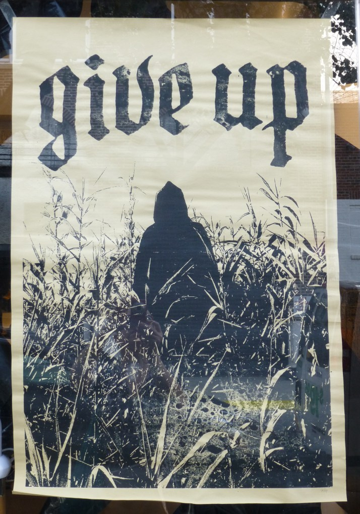 Give Up Poster