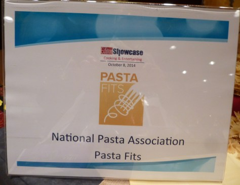 National Pasta Association Signage