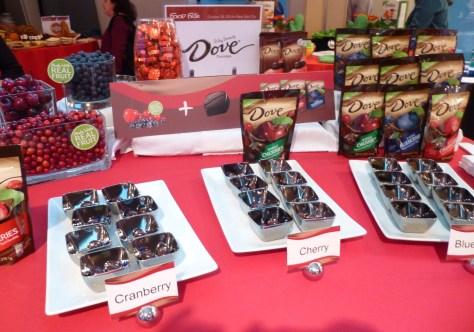 Dove Berries Display