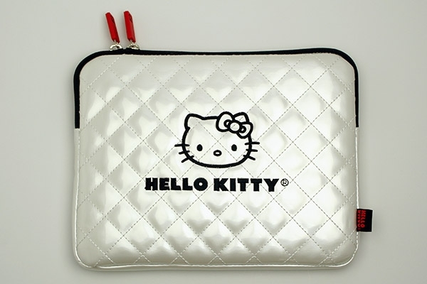 Hello Kitty Quilted iPad Case Back