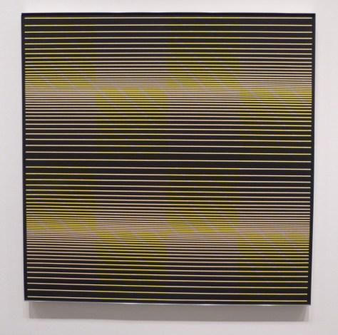 Julian Stanczak Black Test Pattern