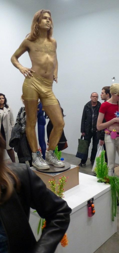Gold Boy Go Go Dancer