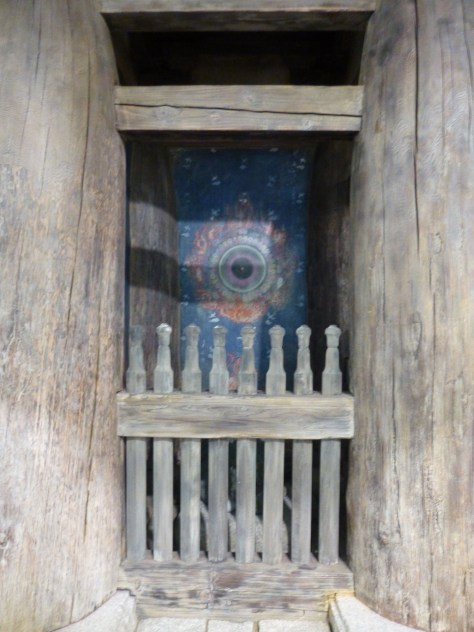 Sacred Gate Eye Detail