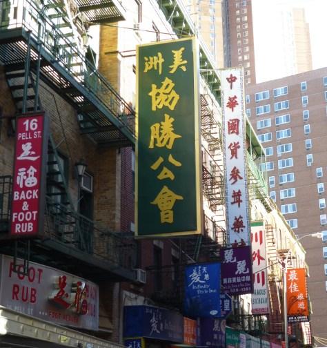 Doyers Street Banners
