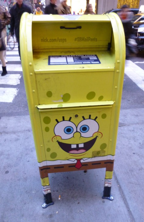 SpongeBob Square Pants Mail Box