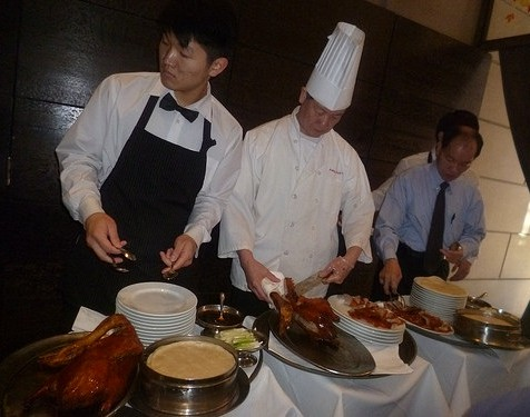 Peking Duck Prep
