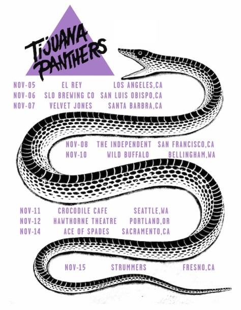 Tijuana Panthers Tour Dates