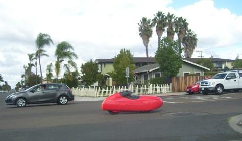 Tiny Red Car
