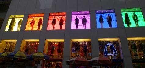 Uniqlo Store Windows
