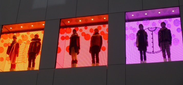 Uniqlo Store Windows
