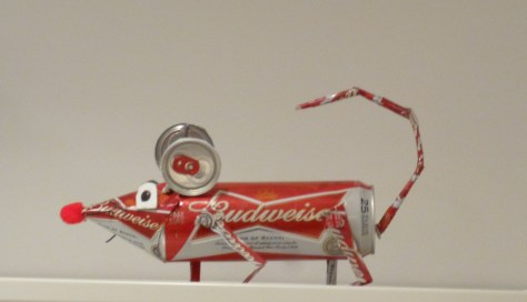 Budweiser Beer Can  Mouse