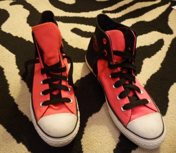 Pink Converse Sneakers