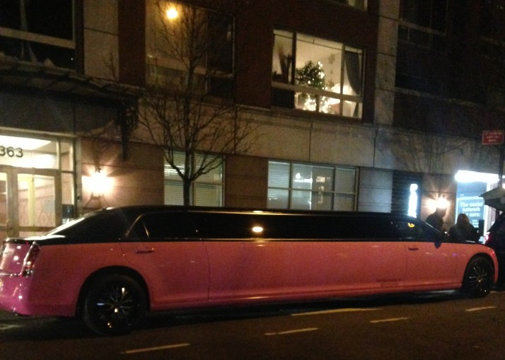 Pink Stretch Limo