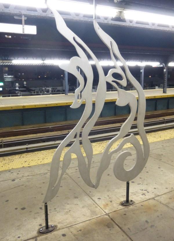 Brighton Beach Subway Sculptures