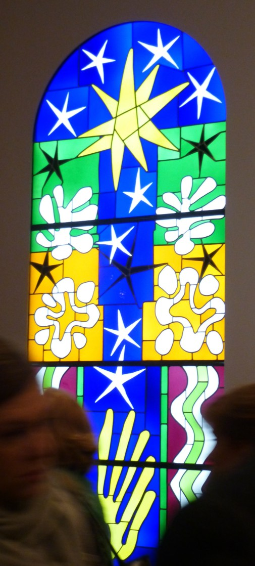 Matisse The Cut Outs Stained Glass