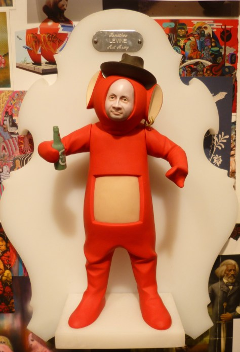 Jonathan LeVine Teletubby by Mike Leavitt