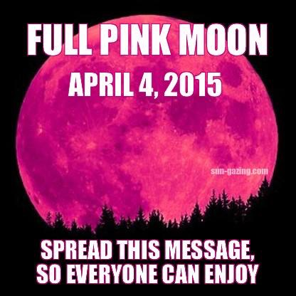 Pink Full Moon April 4