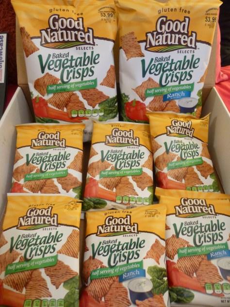 Good Natured Vegetable Crisps