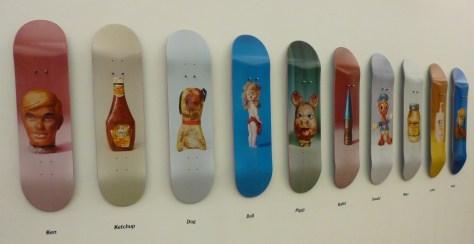 Skate Decks by Paul McCarthy