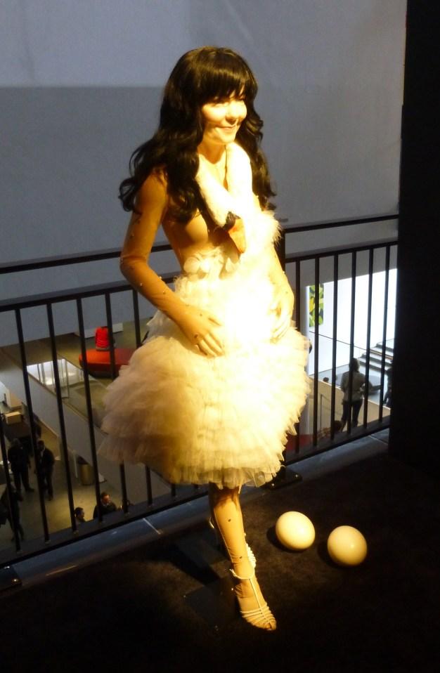Swan Dress By Marjan Pejoski
