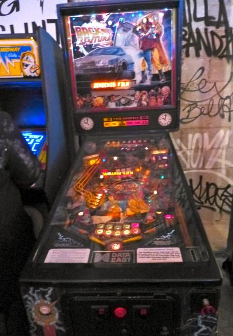 Back to the Future Pin Ball Machine