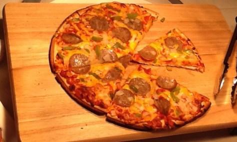 Tombstone Bratwurst Pizza