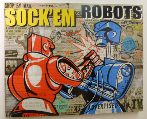 Rock 'em Sock 'em by Nelson De La Nuez