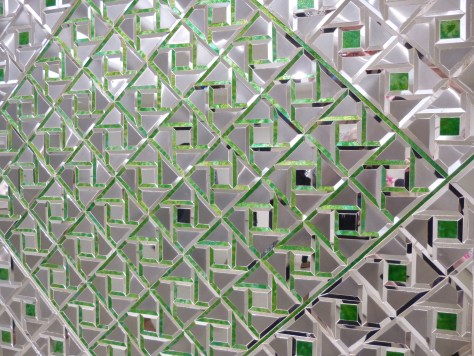 Green Mirror Detail