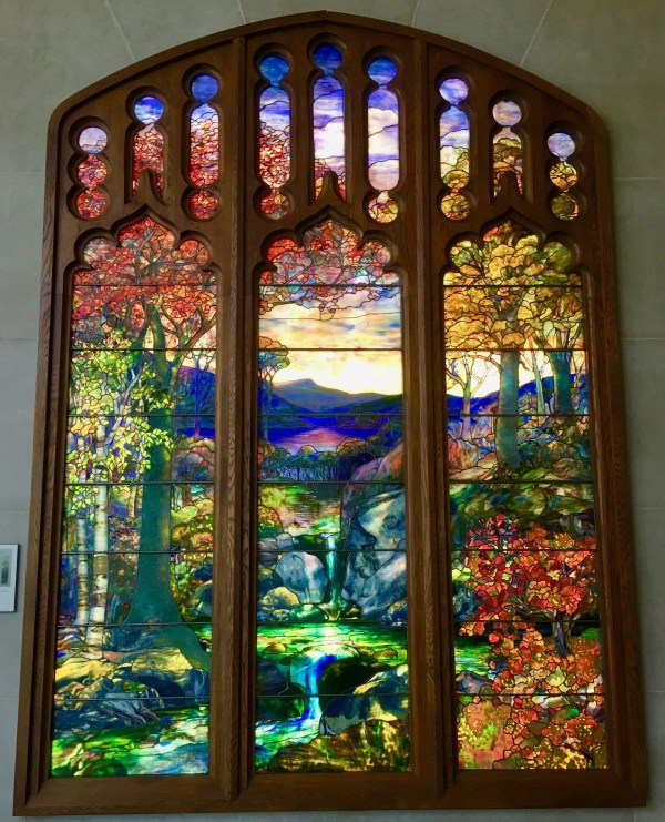 autumn landscape louis c tiffany photo by gail worley